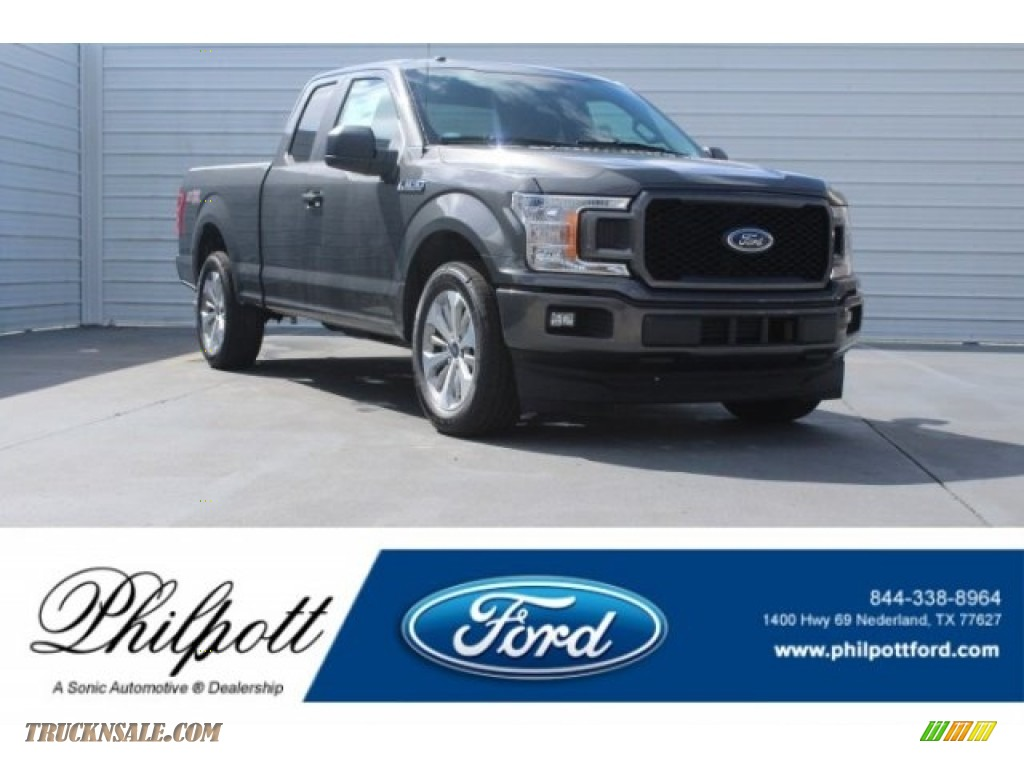 2018 F150 STX SuperCab - Magnetic / Earth Gray photo #1