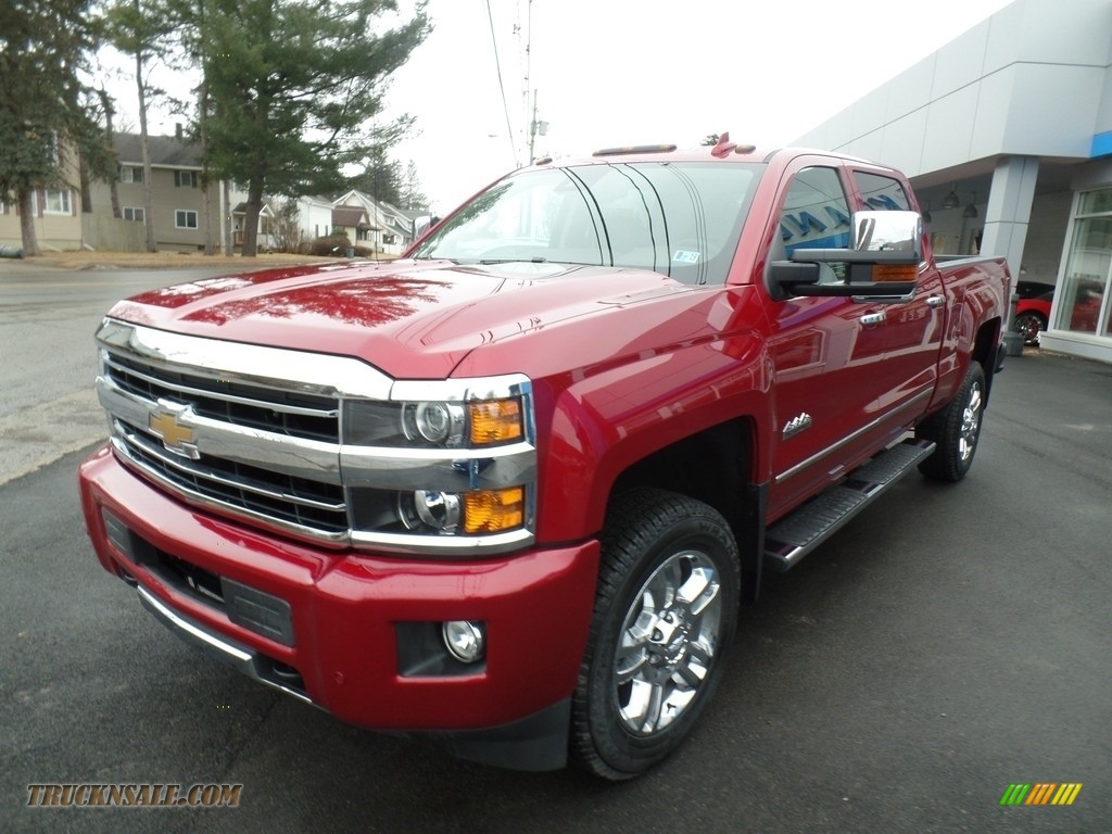 2018 Silverado 2500HD High Country Crew Cab 4x4 - Cajun Red Tintcoat / High Country Saddle photo #1