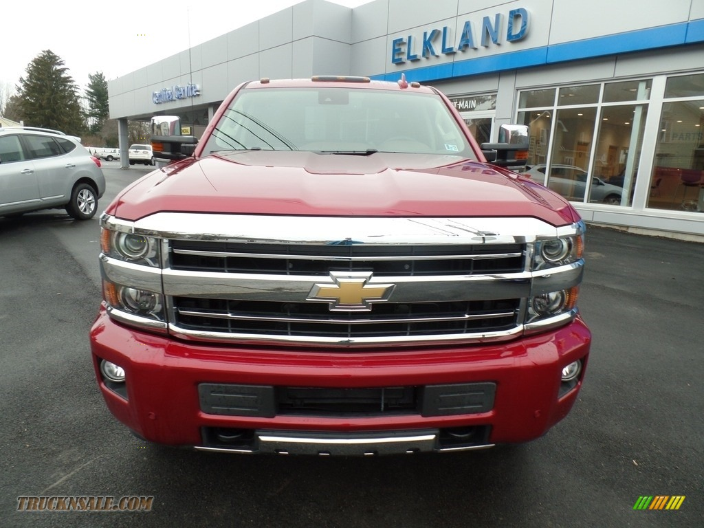 2018 Silverado 2500HD High Country Crew Cab 4x4 - Cajun Red Tintcoat / High Country Saddle photo #2