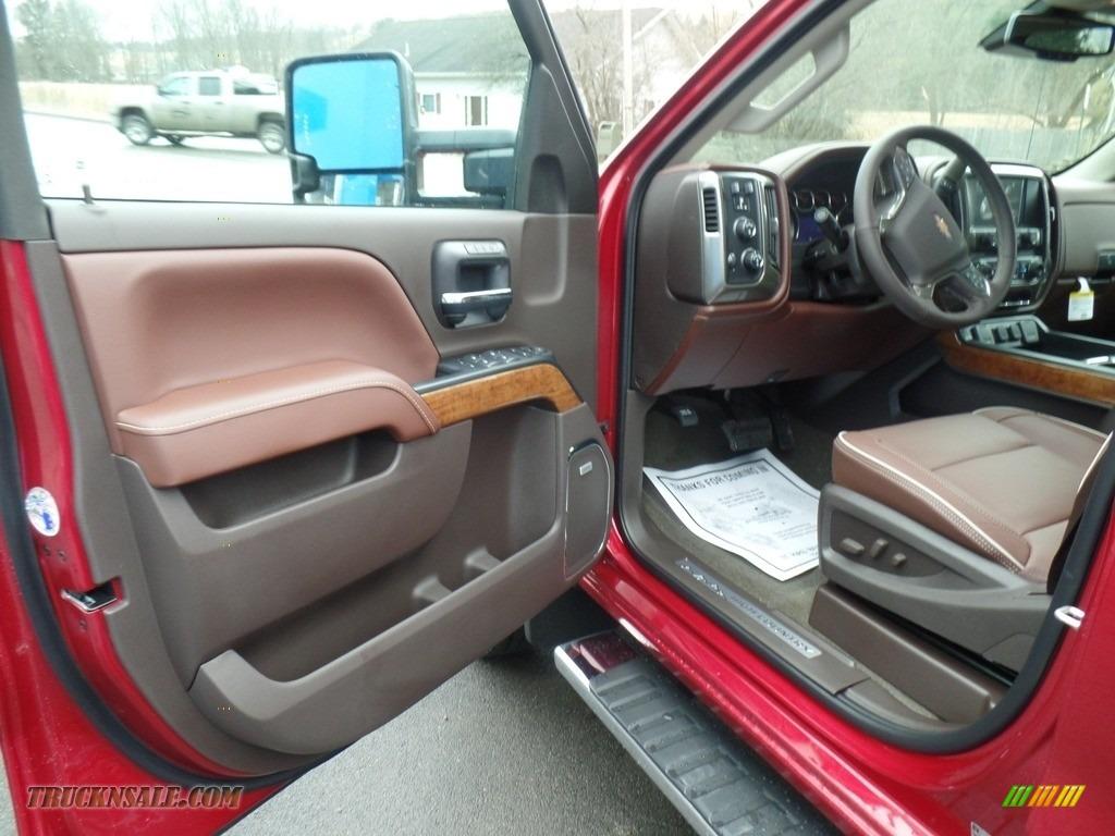 2018 Silverado 2500HD High Country Crew Cab 4x4 - Cajun Red Tintcoat / High Country Saddle photo #15