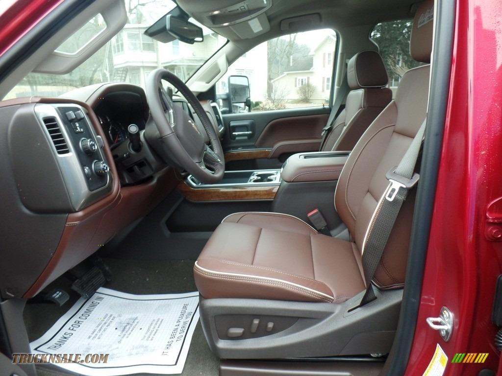 2018 Silverado 2500HD High Country Crew Cab 4x4 - Cajun Red Tintcoat / High Country Saddle photo #20