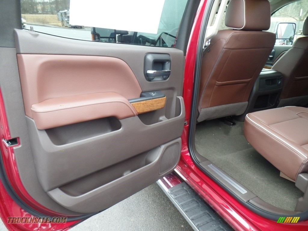 2018 Silverado 2500HD High Country Crew Cab 4x4 - Cajun Red Tintcoat / High Country Saddle photo #46