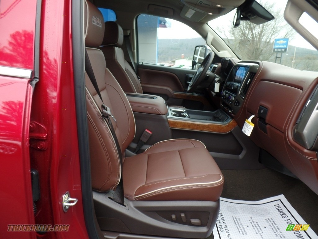 2018 Silverado 2500HD High Country Crew Cab 4x4 - Cajun Red Tintcoat / High Country Saddle photo #56