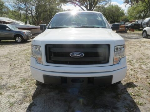 Oxford White 2014 Ford F150 STX SuperCab 4x4
