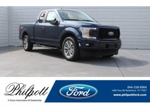 Blue Jeans 2018 Ford F150 XL SuperCab
