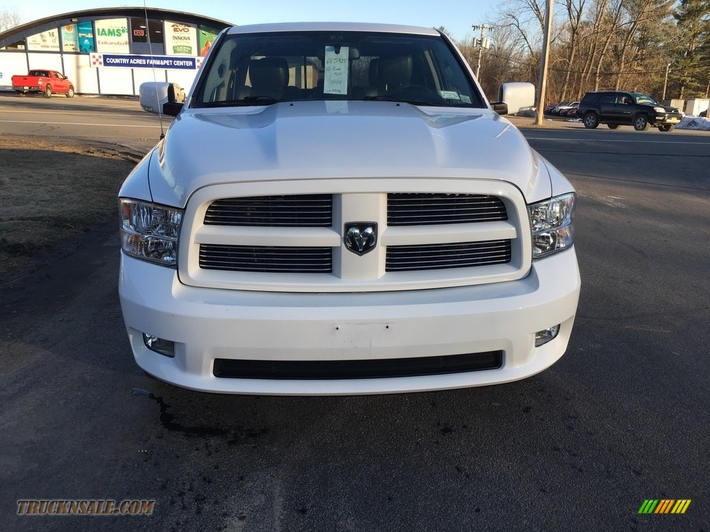 Bright White / Dark Slate Gray Dodge Ram 1500 Sport Quad Cab 4x4