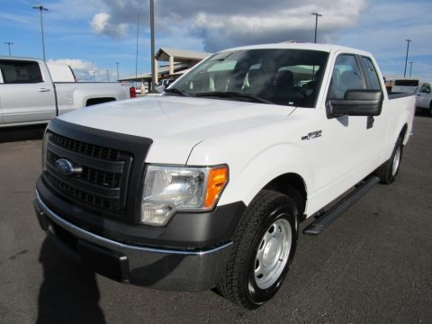 Oxford White 2014 Ford F150 XLT SuperCab