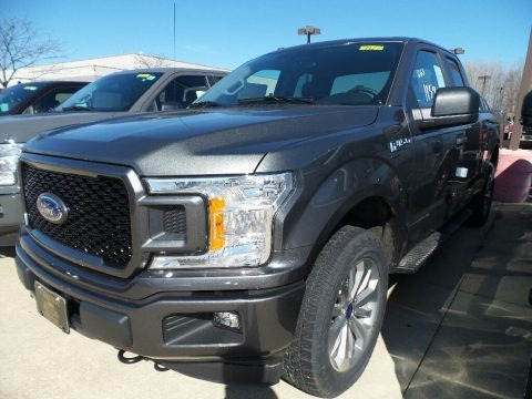 Magnetic 2018 Ford F150 STX SuperCab 4x4
