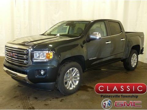 Dark Slate Metallic 2018 GMC Canyon SLT Crew Cab 4x4