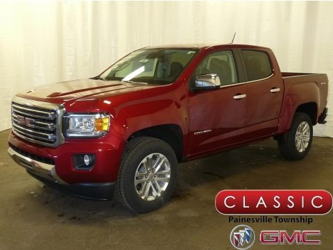 Red Quartz Tintcoat 2018 GMC Canyon SLT Crew Cab 4x4