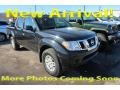 Nissan Frontier SV Crew Cab 4x4 Magnetic Black photo #1