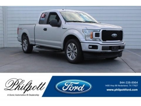 Ingot Silver 2018 Ford F150 XL SuperCab