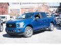 Ford F150 STX SuperCrew 4x4 Lightning Blue photo #1