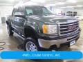 GMC Sierra 1500 SLE Crew Cab 4x4 Mineral Green Metallic photo #1