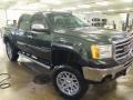 GMC Sierra 1500 SLE Crew Cab 4x4 Mineral Green Metallic photo #3