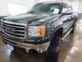 GMC Sierra 1500 SLE Crew Cab 4x4 Mineral Green Metallic photo #5