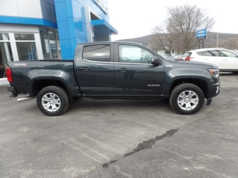 Graphite Metallic 2018 Chevrolet Colorado LT Crew Cab 4x4