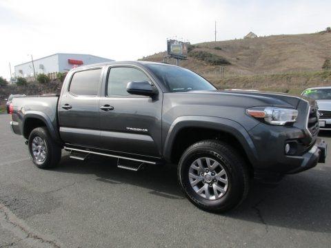 Magnetic Gray Metallic 2017 Toyota Tacoma SR5 Double Cab