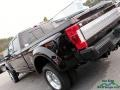 Ford F450 Super Duty Limited Crew Cab 4x4 Magma Red photo #38