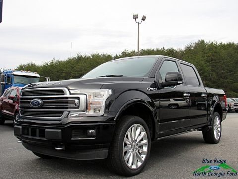 Shadow Black 2018 Ford F150 Limited SuperCrew 4x4