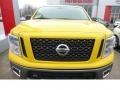Nissan Titan PRO-4X King Cab 4x4 SolarFlare Yellow photo #7