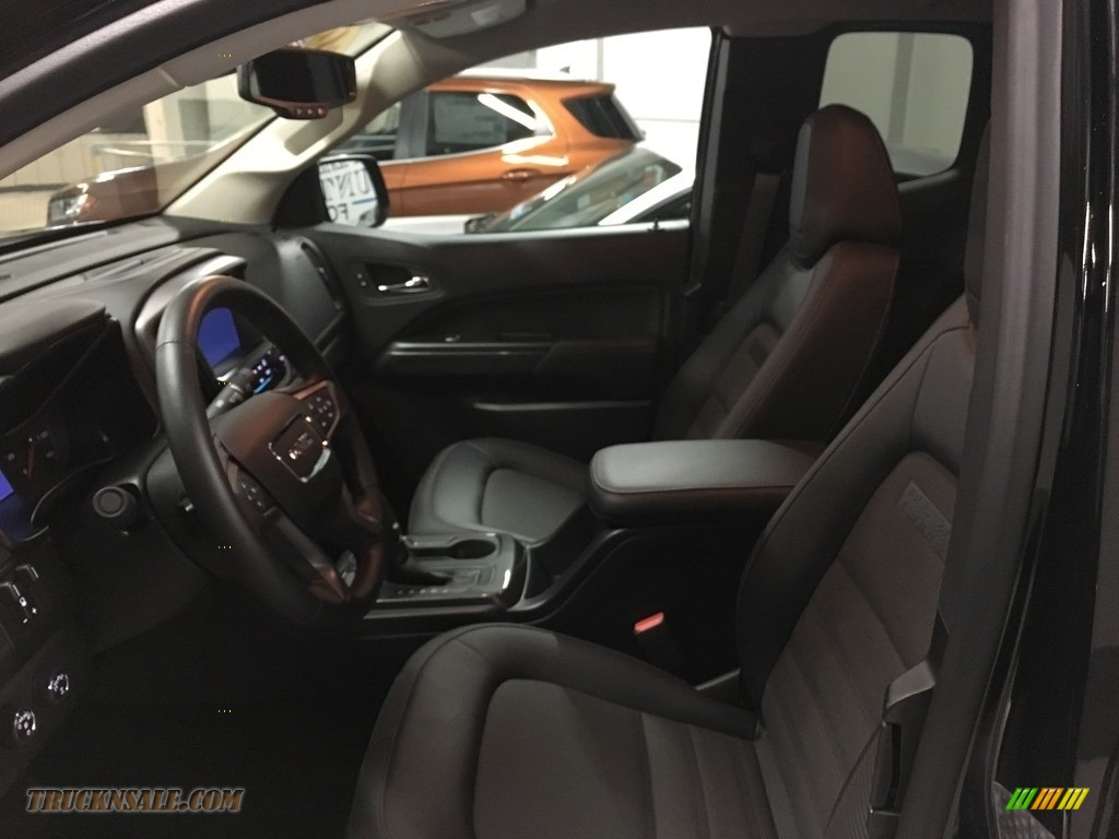 2017 Canyon SLE Extended Cab 4x4 - Onyx Black / Jet Black photo #5