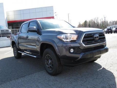 Magnetic Gray Metallic 2018 Toyota Tacoma SR5 Double Cab