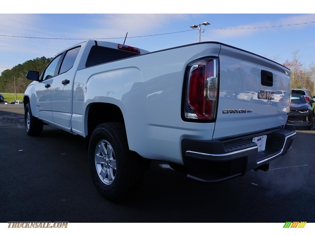2018 Canyon Crew Cab - Summit White / Jet Black/Dark Ash photo #12