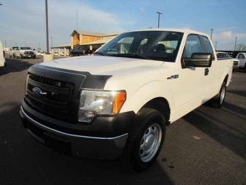 Oxford White 2014 Ford F150 XL SuperCab