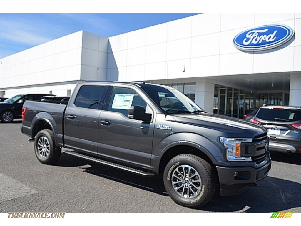2018 F150 XLT SuperCrew 4x4 - Magnetic / Earth Gray photo #1