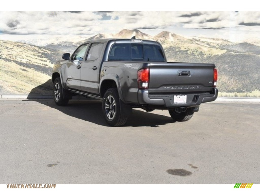 2018 Tacoma TRD Sport Double Cab 4x4 - Magnetic Gray Metallic / Cement Gray photo #3