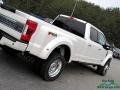 Ford F450 Super Duty Platinum Crew Cab 4x4 White Platinum photo #35
