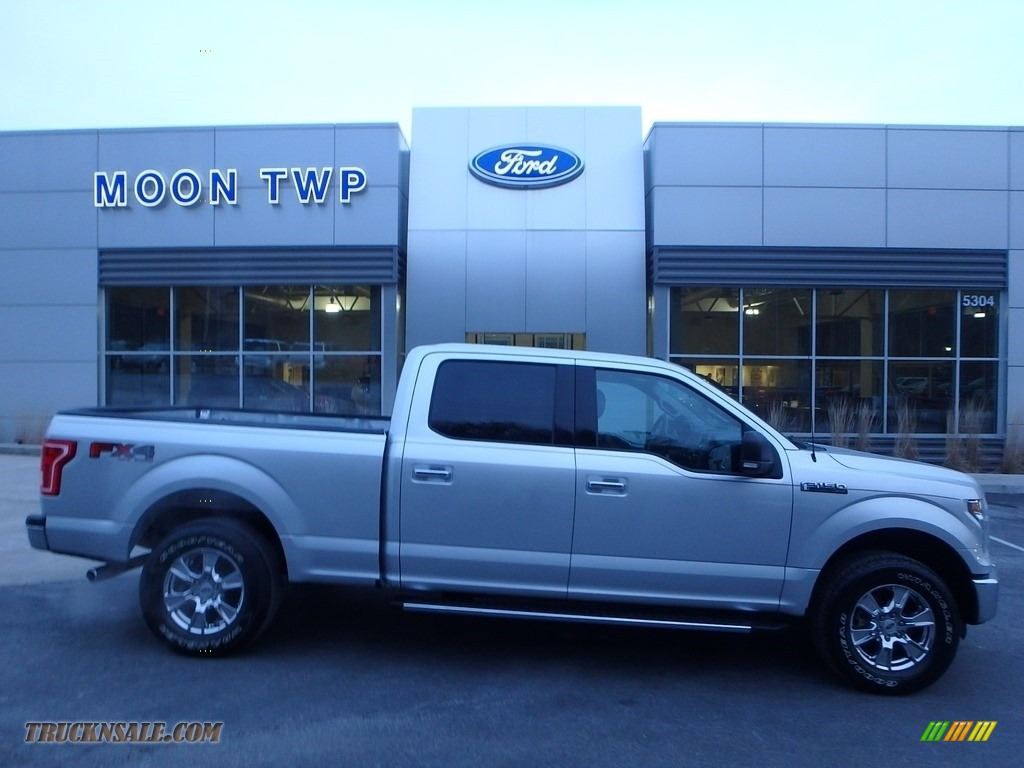 Ingot Silver / Medium Earth Gray Ford F150 XLT SuperCrew 4x4