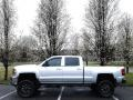 Chevrolet Silverado 2500HD LTZ Crew Cab 4x4 Silver Ice Metallic photo #1