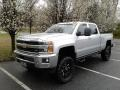 Chevrolet Silverado 2500HD LTZ Crew Cab 4x4 Silver Ice Metallic photo #2