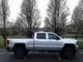 Chevrolet Silverado 2500HD LTZ Crew Cab 4x4 Silver Ice Metallic photo #5