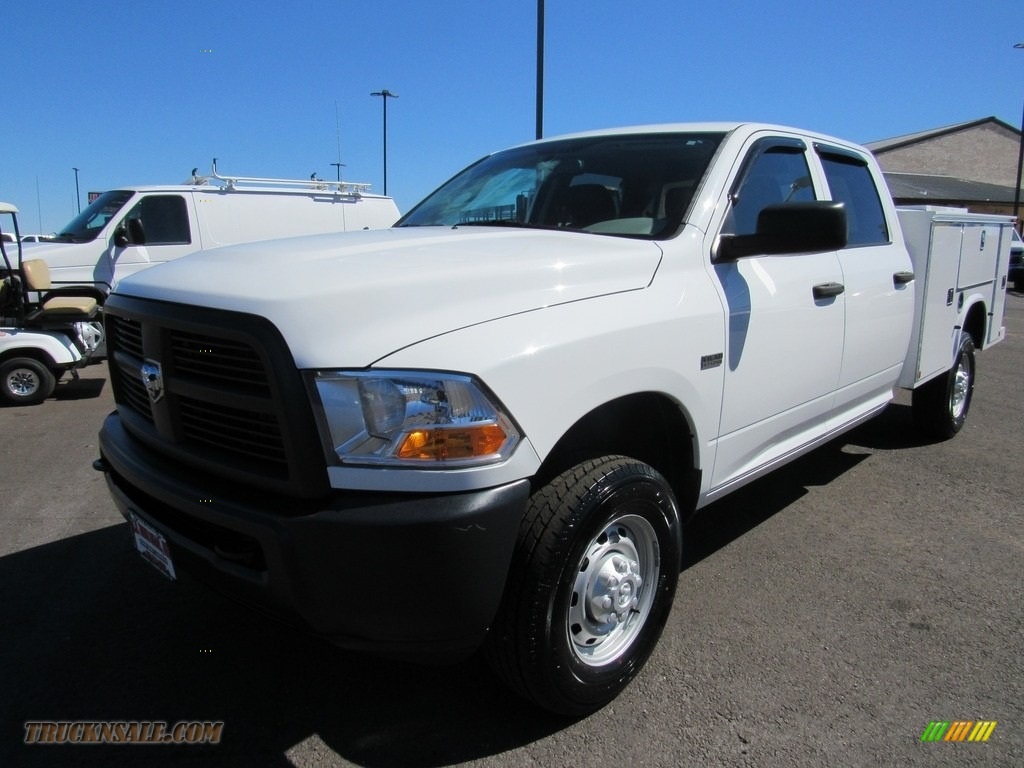 2012 Ram 2500 HD ST Crew Cab 4x4 - Bright White / Dark Slate/Medium Graystone photo #1