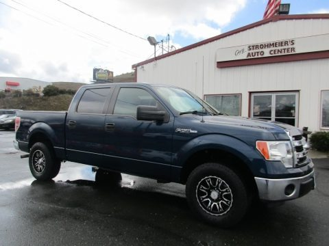 Blue Flame 2014 Ford F150 XLT SuperCrew