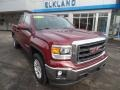 GMC Sierra 1500 SLE Double Cab 4x4 Sonoma Red Metallic photo #3