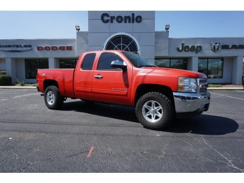 Victory Red 2013 Chevrolet Silverado 1500 LT Extended Cab