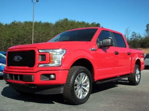 Race Red 2018 Ford F150 STX SuperCrew 4x4