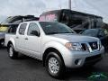 Nissan Frontier SV Crew Cab 4x4 Brilliant Silver photo #7