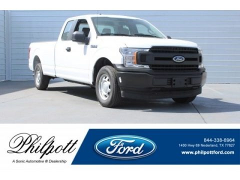 Oxford White 2018 Ford F150 XL SuperCab