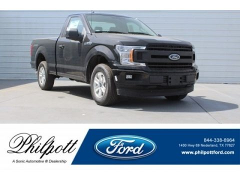 Shadow Black 2018 Ford F150 XL Regular Cab