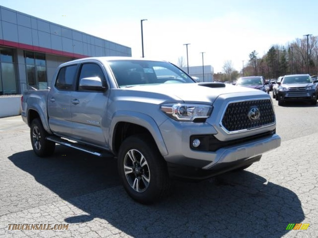 2018 Tacoma TRD Sport Double Cab - Silver Sky Metallic / Graphite w/Gun Metal photo #1