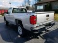 Chevrolet Silverado 2500HD WT Regular Cab 4x4 Silver Ice Metallic photo #3