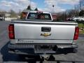 Chevrolet Silverado 2500HD WT Regular Cab 4x4 Silver Ice Metallic photo #4