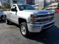 Chevrolet Silverado 2500HD WT Regular Cab 4x4 Silver Ice Metallic photo #10