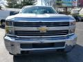 Chevrolet Silverado 2500HD WT Regular Cab 4x4 Silver Ice Metallic photo #11
