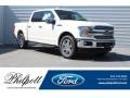 Ford F150 Lariat SuperCrew White Platinum photo #1